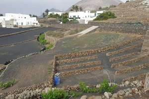 Plot for sale in La Vegueta, Tinajo, Lanzarote.