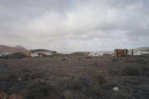 Urban plot for sale in La Vegueta, Tinajo, Lanzarote.