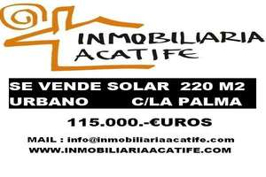 Plot for sale in Arrecife, Lanzarote.