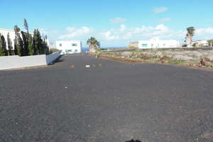 Plot for sale in Tinajo, Lanzarote.